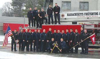 Massachusetts Fire Academy Graduates